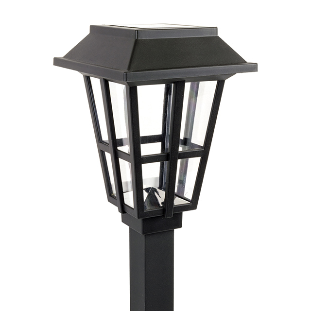 Alpan Solar Pathway Light, Black