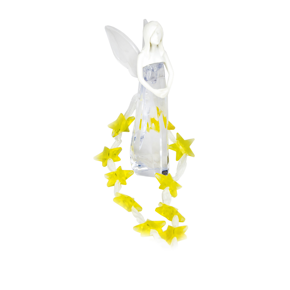 Blessed Crystal Angel Car Air Freshener, Enchanted Garden