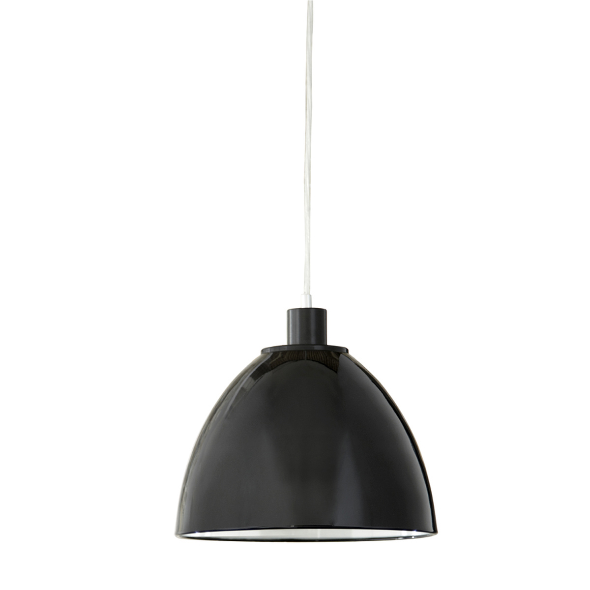 Metal Pendant Light, Black