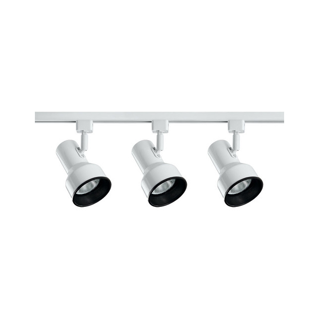 Catalina Lighting White 3 Light Step Linear Track Lighting Kit