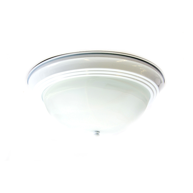 Catalina by Evolution 1 Light CFL Flushmount, 11 inch