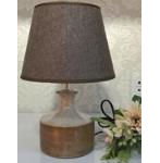 12 INCH SHORT BEIGE TWO TONE LAMP - 1816405