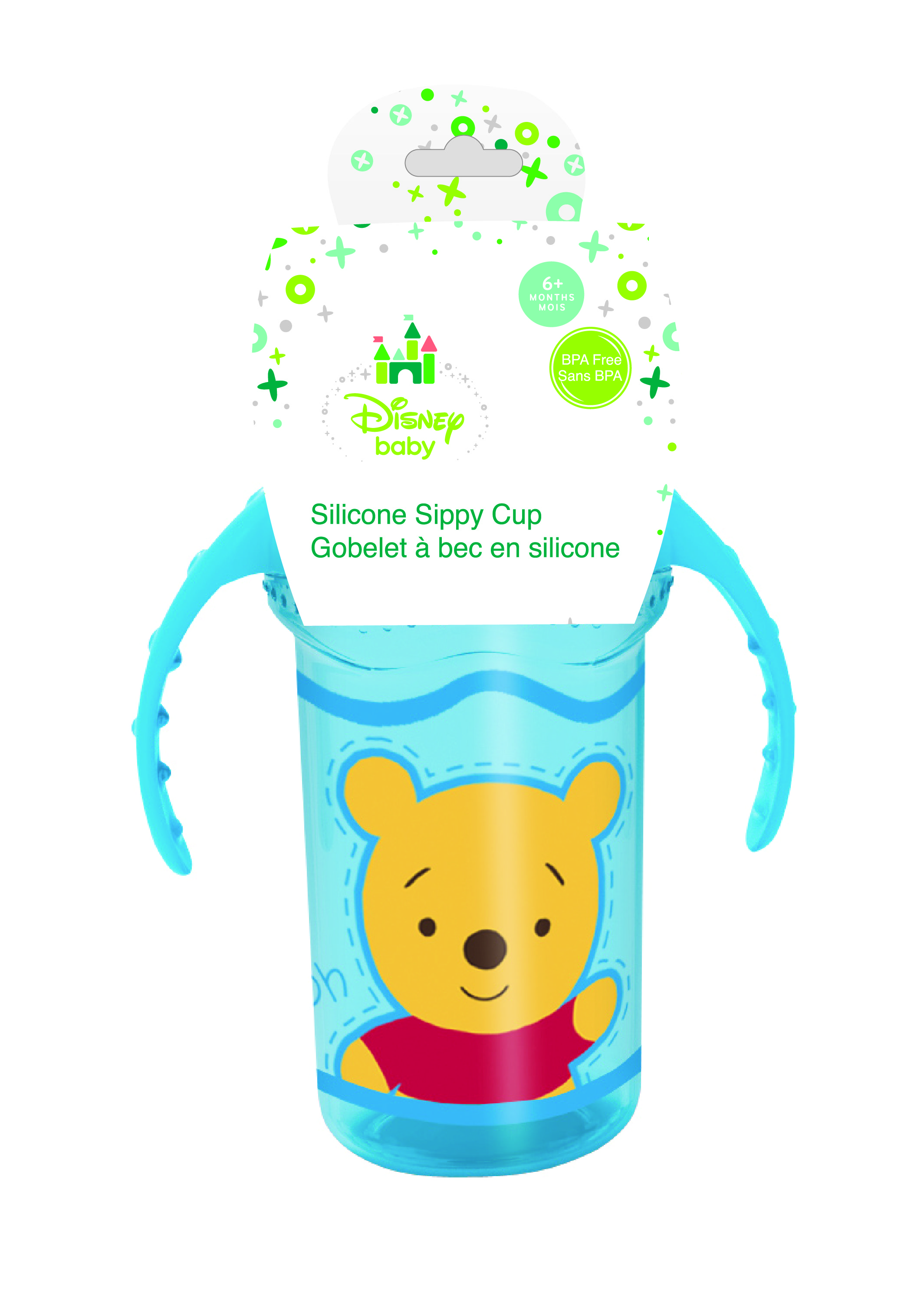 Baby Silicone Sippy Cup with Handle