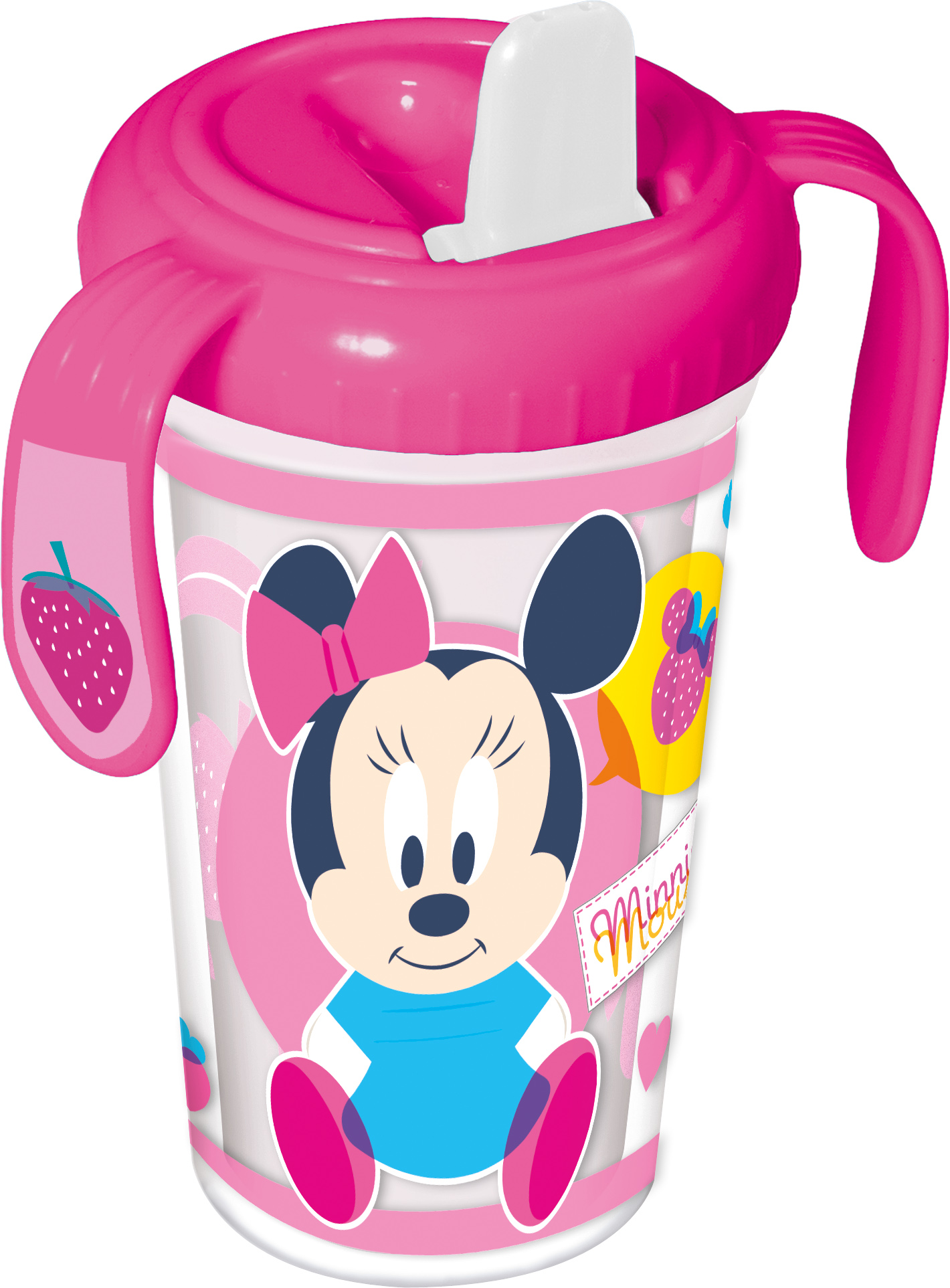 Baby Double Wall Sippy Cup with Handle Girls