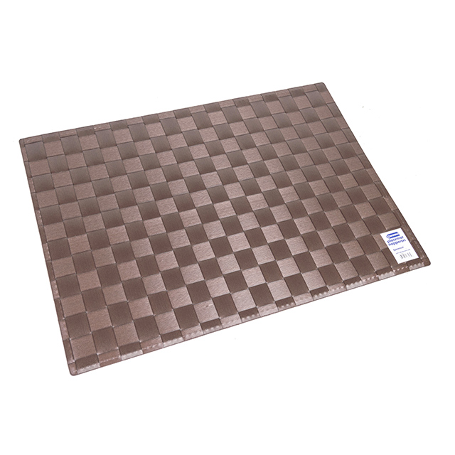 Danesco Weaved Placemat, Dark Brown