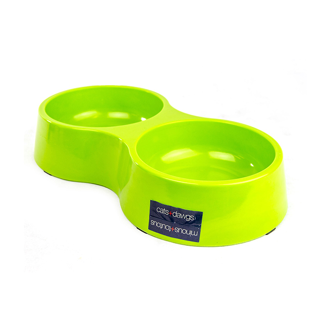 Double Melamine Bowls - Large