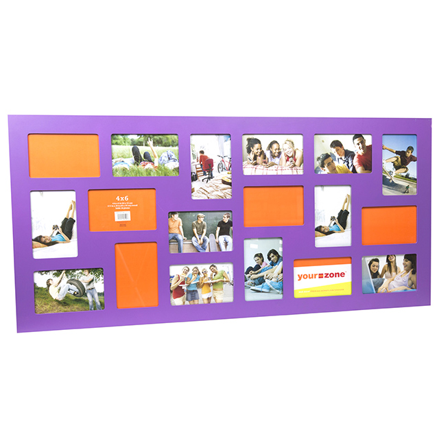 18 Opening Collage Frame, Purple