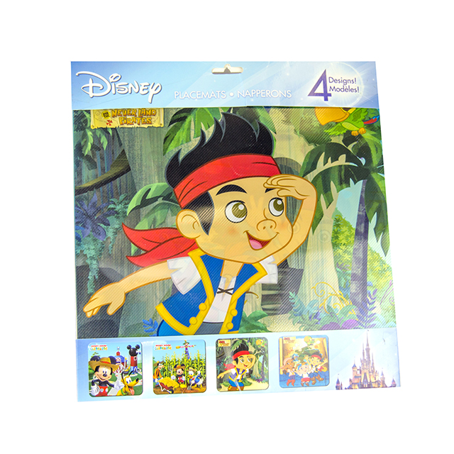 4PK Kids Placemats, Boys
