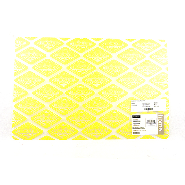 Harman Yellow Lemonade Placemat