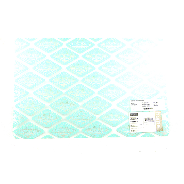 Harman Aqua Lemonade Placemat