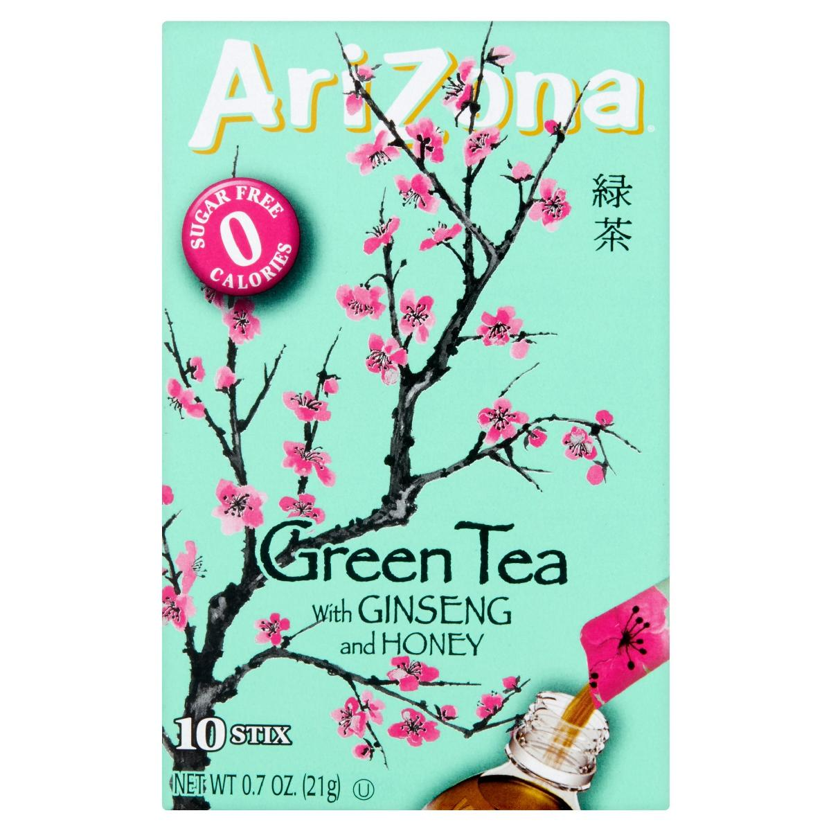 AZ 12-10 CT STIX, GREEN TEA
