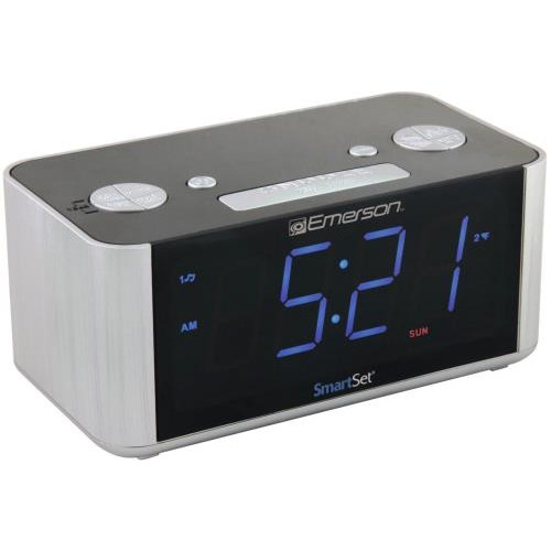 Emerson SmartSet Clock Radio Refurbished