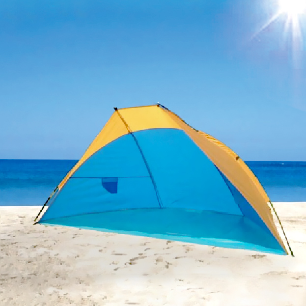 best sneakers fe0f7 e860e Intellibrands Portable Pop Up Beach Cabana 8x6x4 ft ...