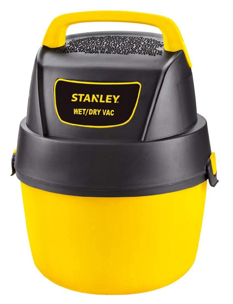 Stanley 1 Gallon Wet Dry Vacuum Brown Box Refurbished