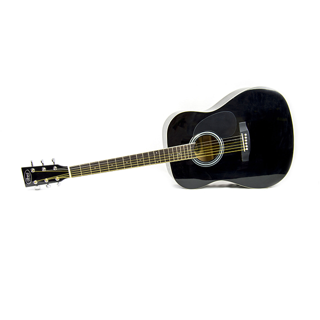 Girard Guitars 41 inch Acoustic Guitar, Special Black Edition