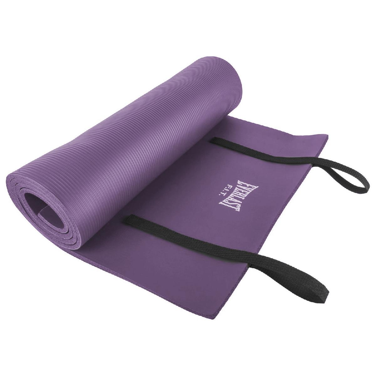 10MM FOAM EXERCISE MAT WITH CARRY STRAP