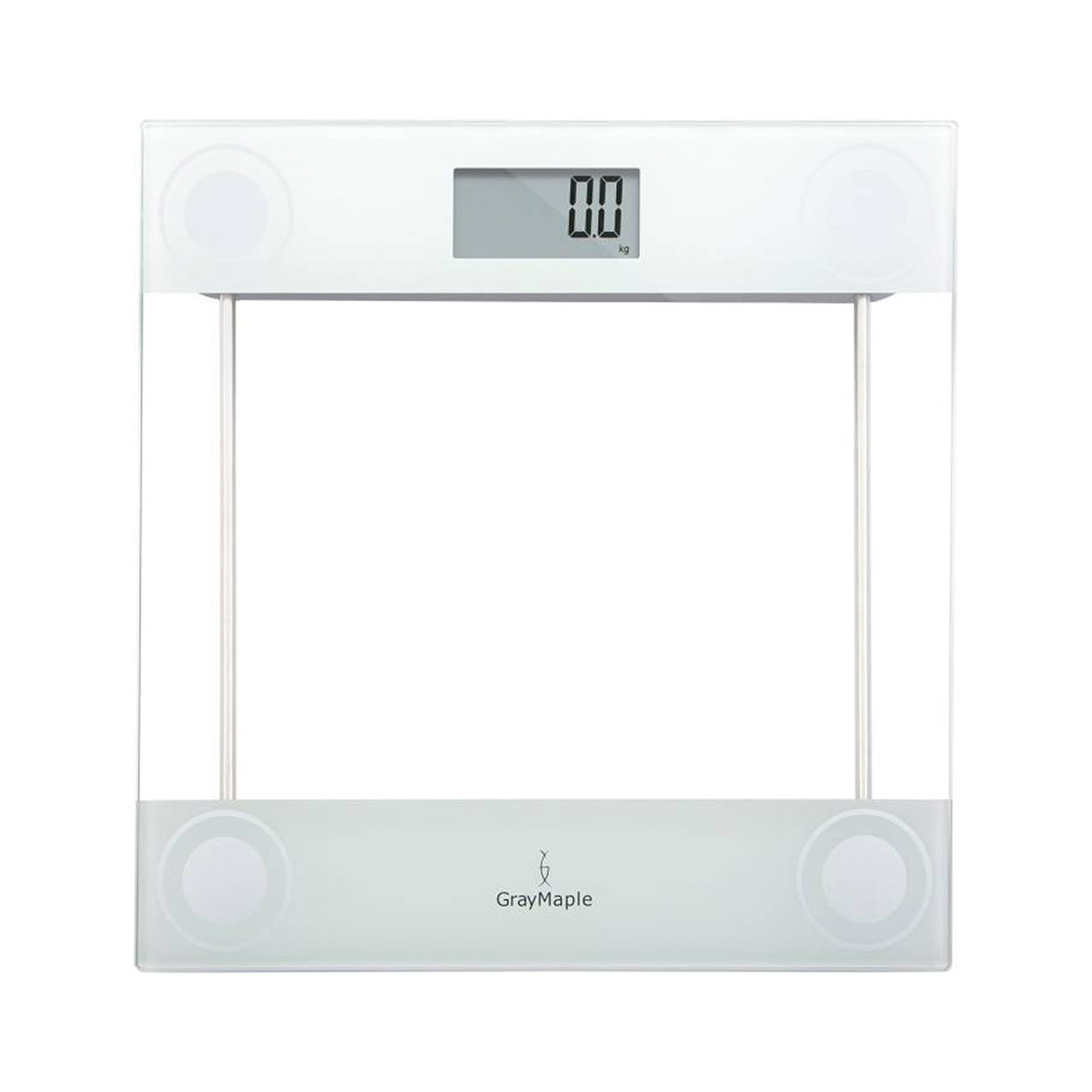 WHITE DIGITAL BODY WEIGHT SCALE
