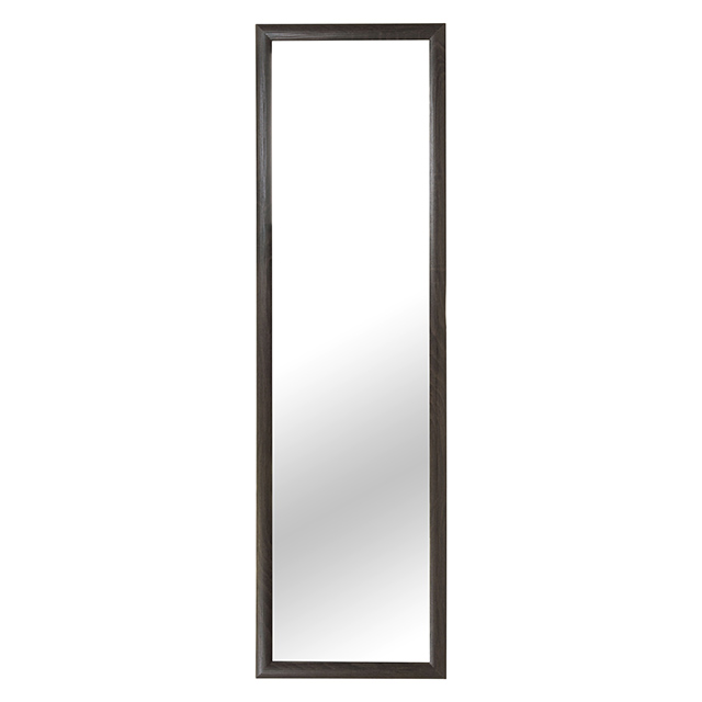 14 X 47 Inch Door Mirror, Dark Oak