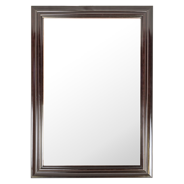 24 x 34 Inch Door Mirror, Dark Chocolate