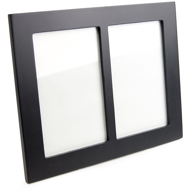 Contemporary Frame with Two 4X6 Openings   Strategic Merchandise Group