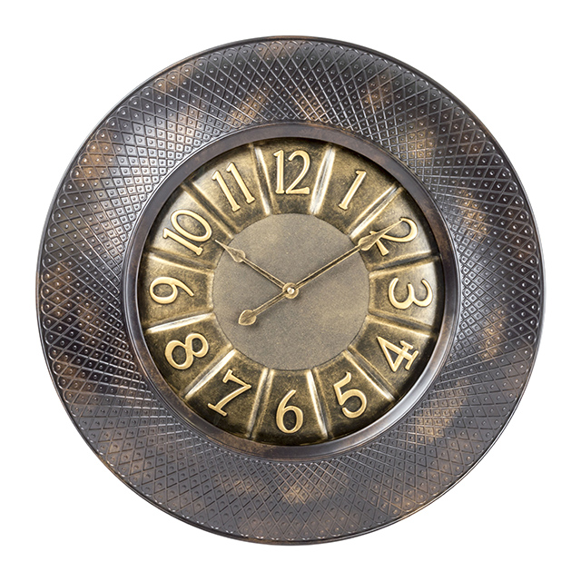 Empire 20 Inch Decorative Wall Clock, Bronze